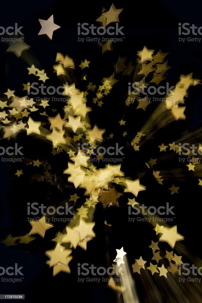 Falling Stars royalty-free stock photo