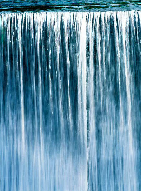 falling water - waterfall stock photos and pictures