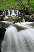 rocky cascades