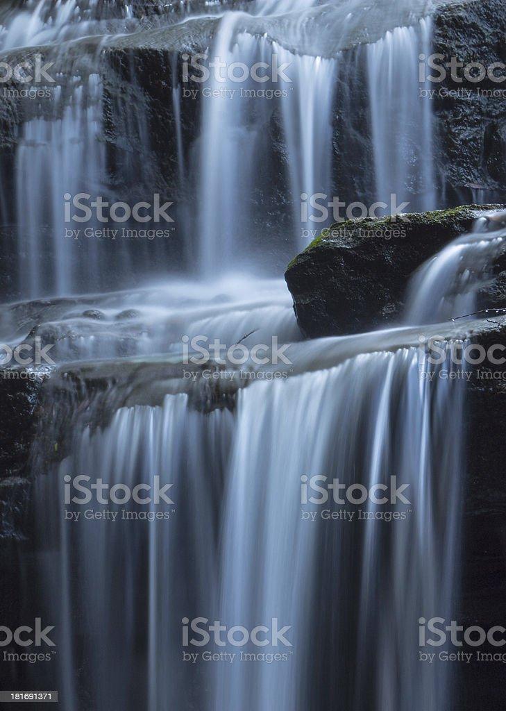 falling water royalty-free stock photo