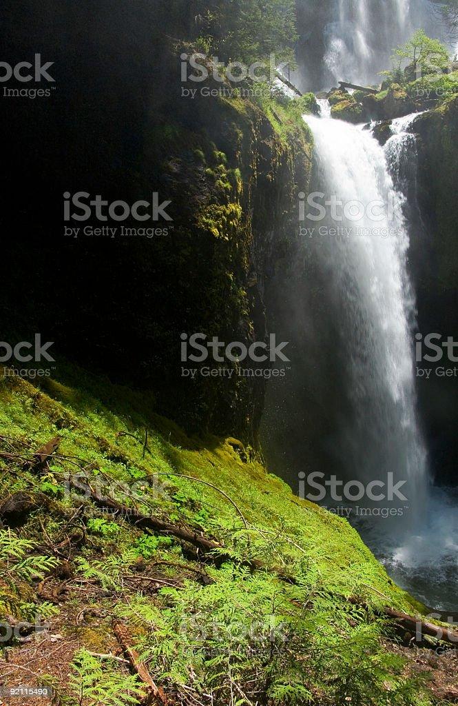 Falls Creek waterfall royalty-free stock photo