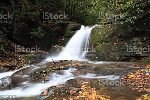 Photo of Falls Dodd Creek along Raven Cliff Falls Trail in Georgia