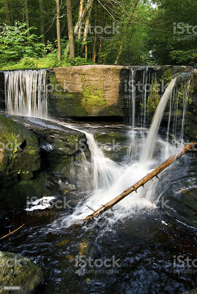 Cascate nel Connecticut foto stock royalty-free