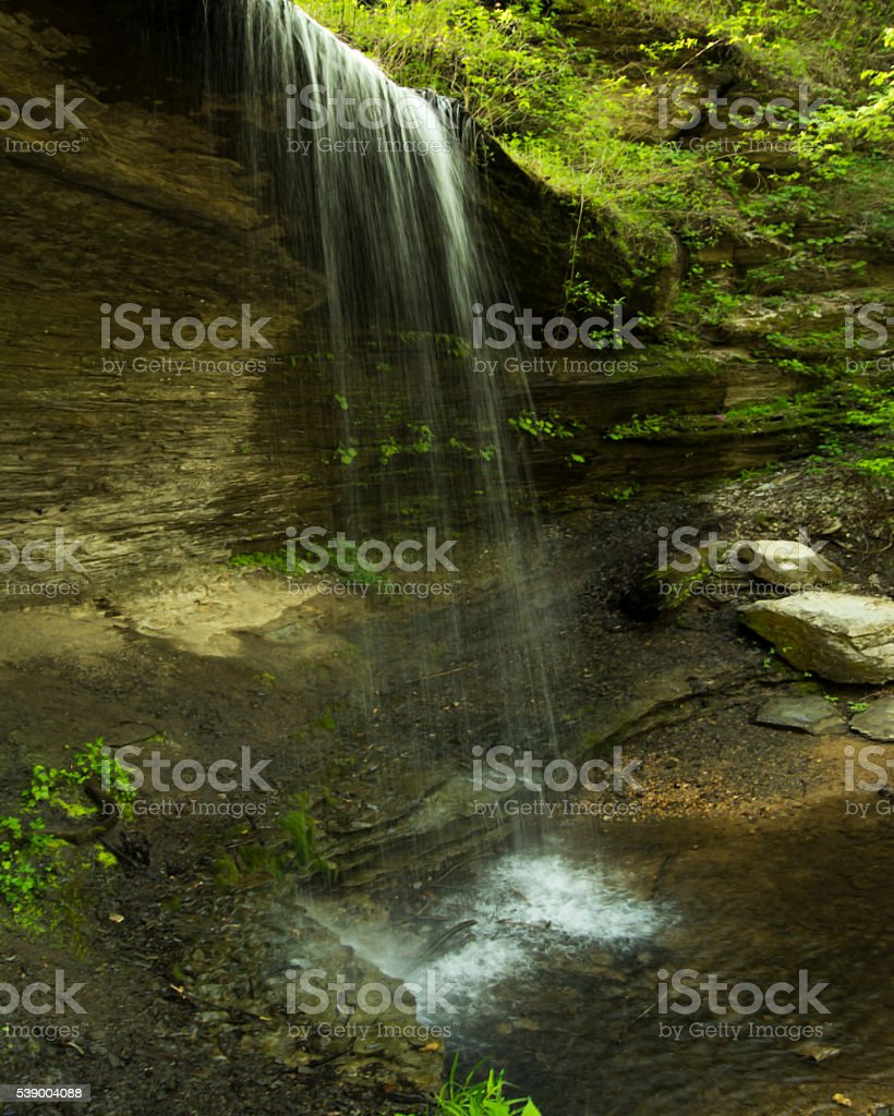 Falls in the Spring stock photo