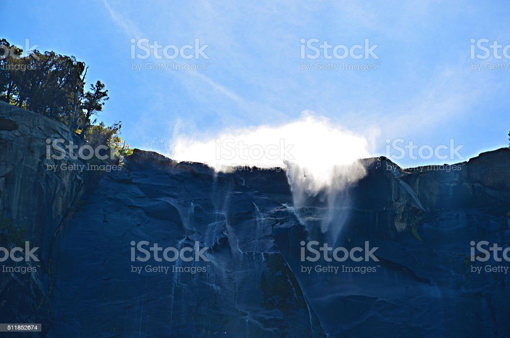 Falls, Yosemite National Park stock photo