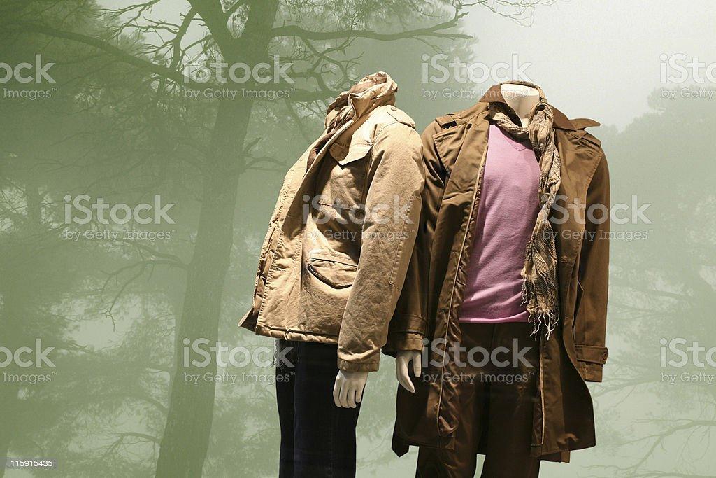 Fall-winter fashion royalty-free stock photo