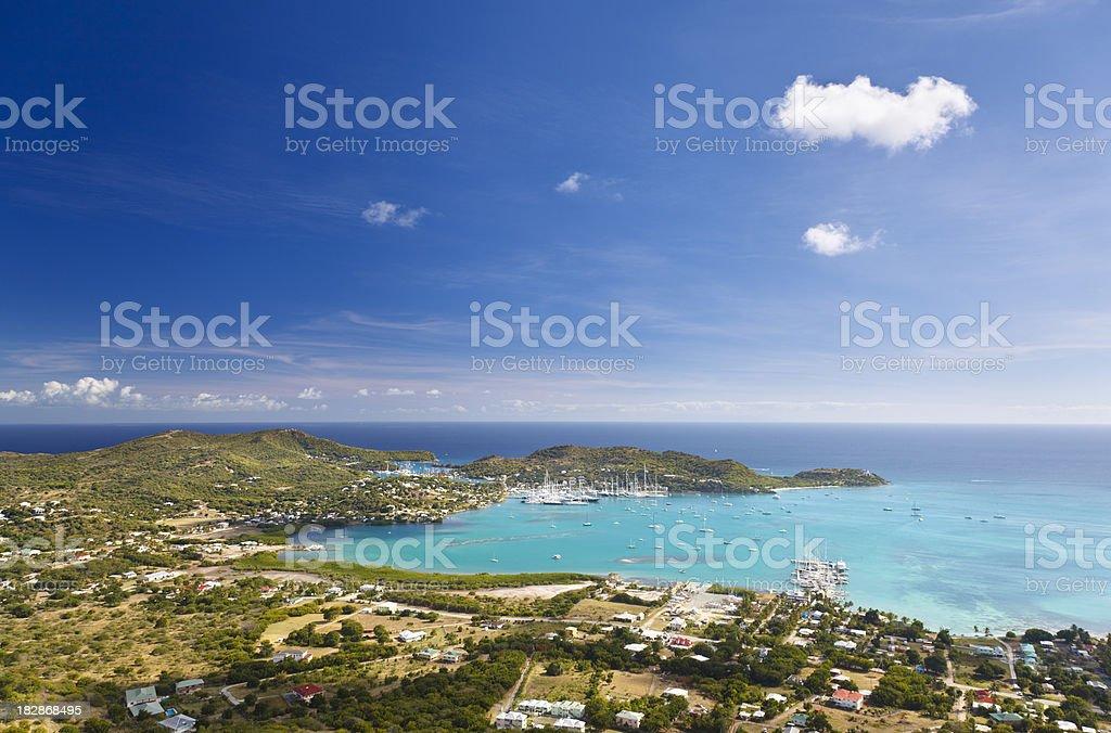 Falmouth Area, Antigua stock photo