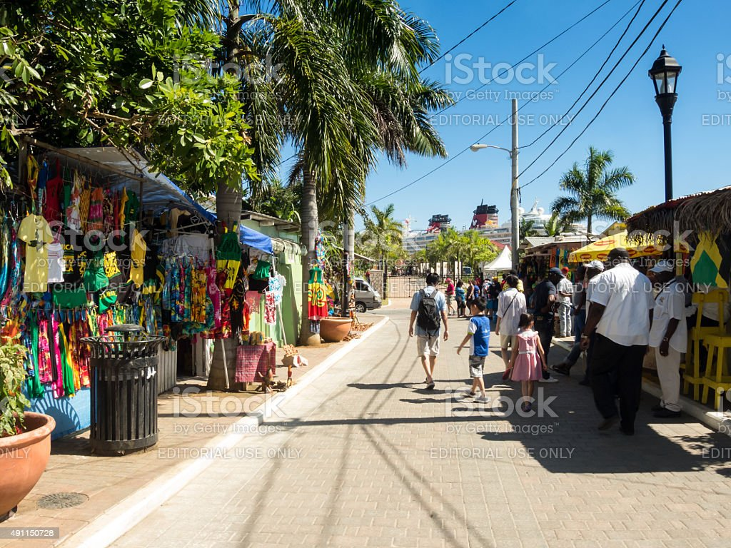 Falmouth - Jamaica stock photo