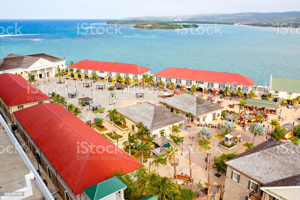 Falmouth Hafen in Jamaika Insel der Karibik – Foto