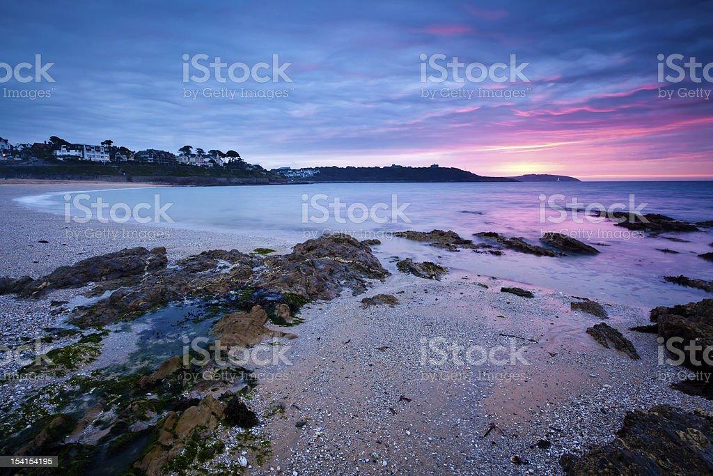 Falmouth Sunrise stock photo