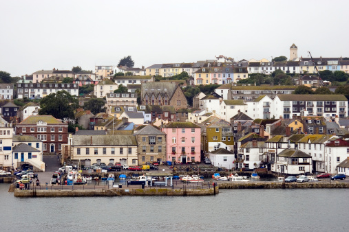 Falmouth waterfront and docks