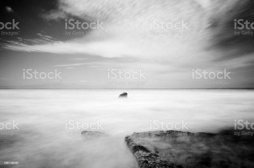 False Bay Seascape royalty-free stock photo