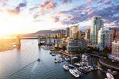 istock False Creek, Downtown Vancouver, British Columbia, Canada. 1225284622
