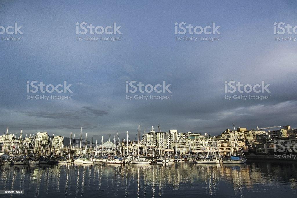 False Creek Harbour royalty-free stock photo