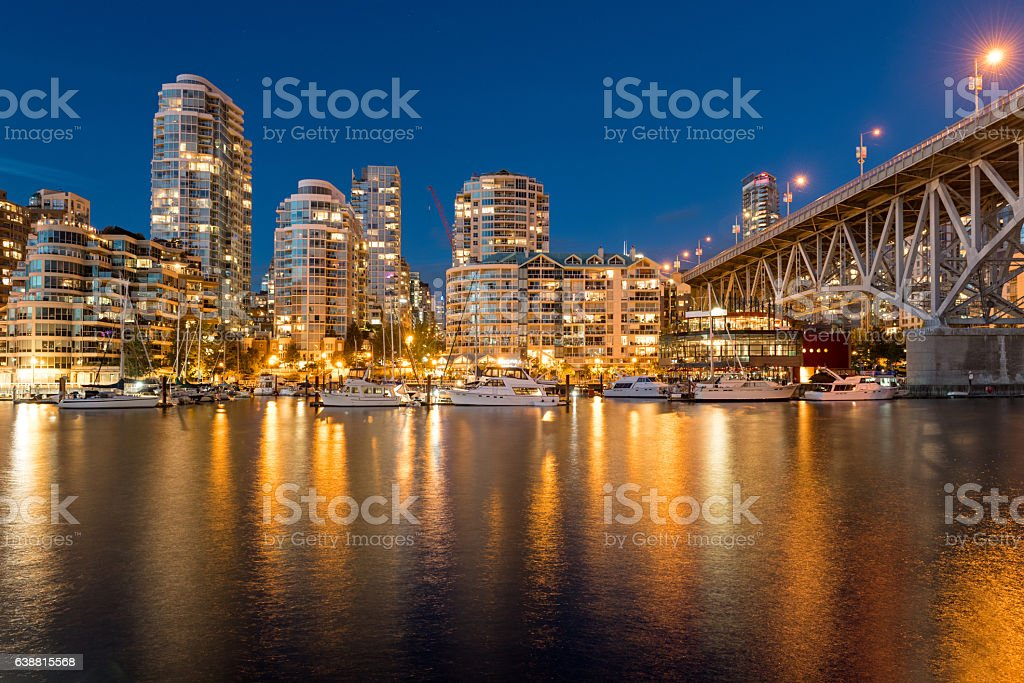 False Creek, Vancouver, Canada stock photo