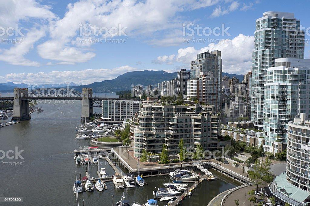 False Creek Vancouver royalty-free stock photo