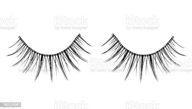 False Eyelashes Stock Photo - Download Image Now