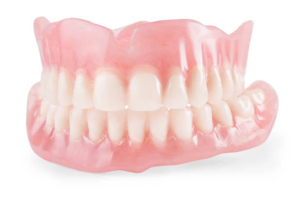 Fausses dents isolées - Photo
