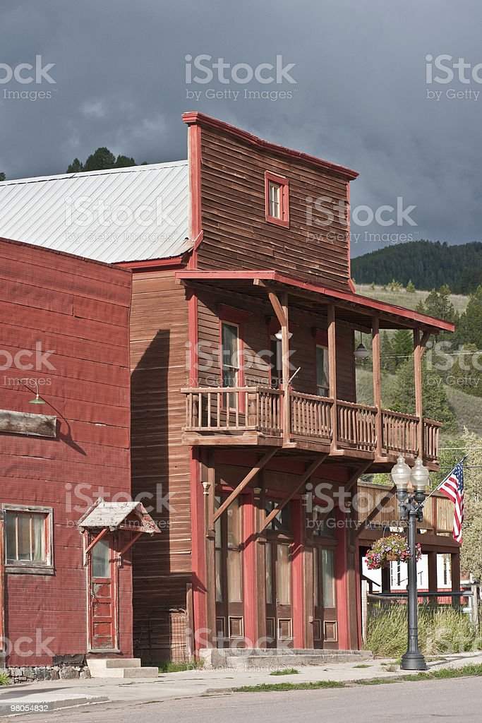 False-fronted Building royalty-free stock photo