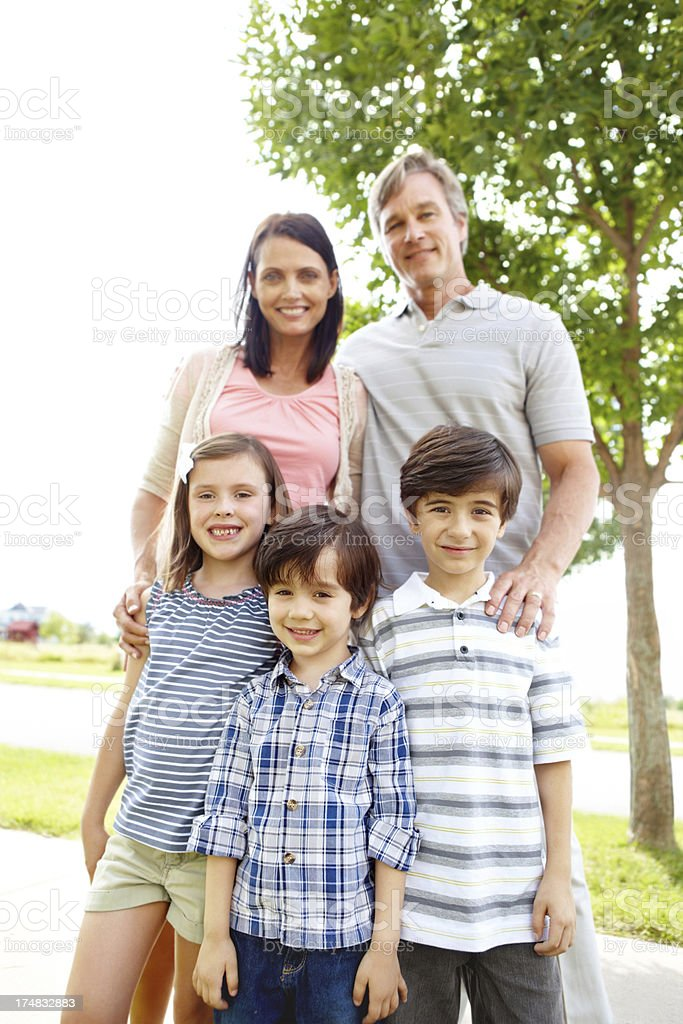 Families that play together royalty-free stock photo