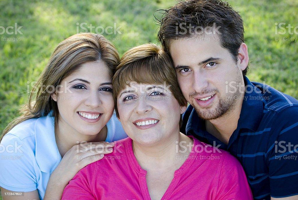 Family 02 royalty-free stock photo