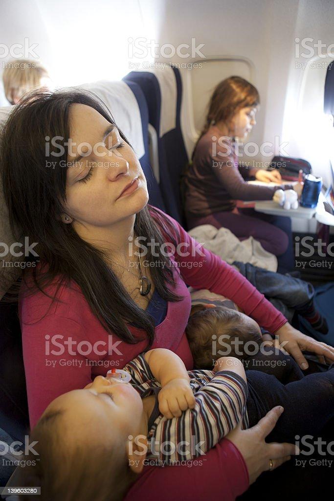 Familie Flugreisen – Foto