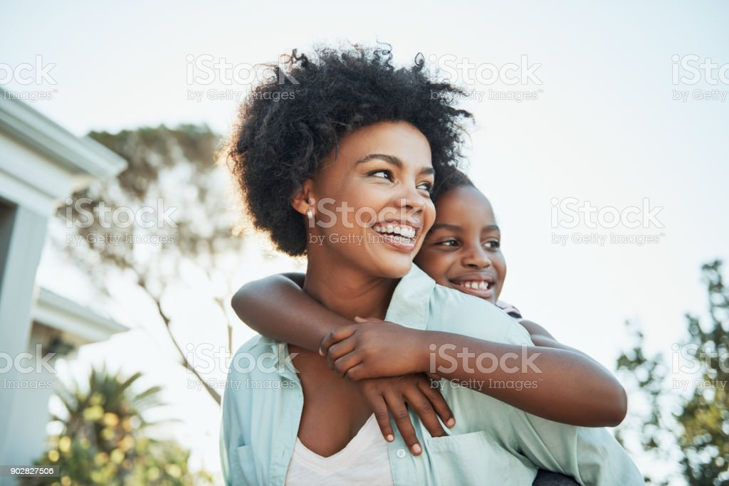Family always comes first stock photo