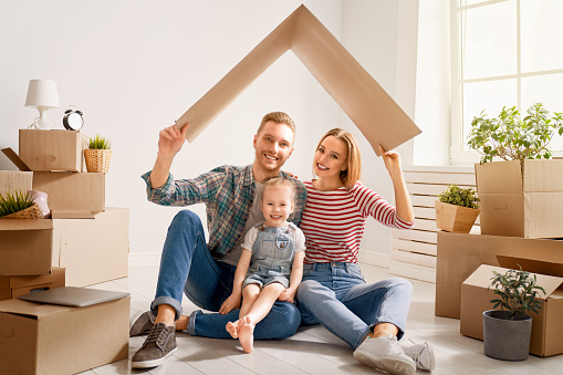 istock family are moving to new apartment 1148193777
