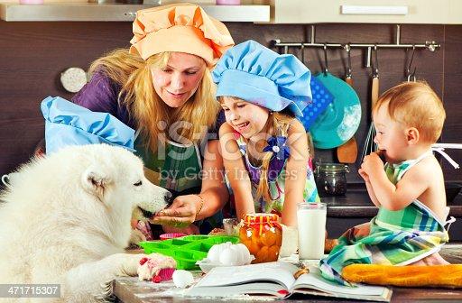 istock Family at kitchen 471715307