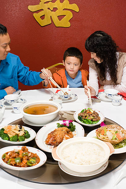 Top 60 Chinese New Year Dinner Stock Photos, Pictures, and ...