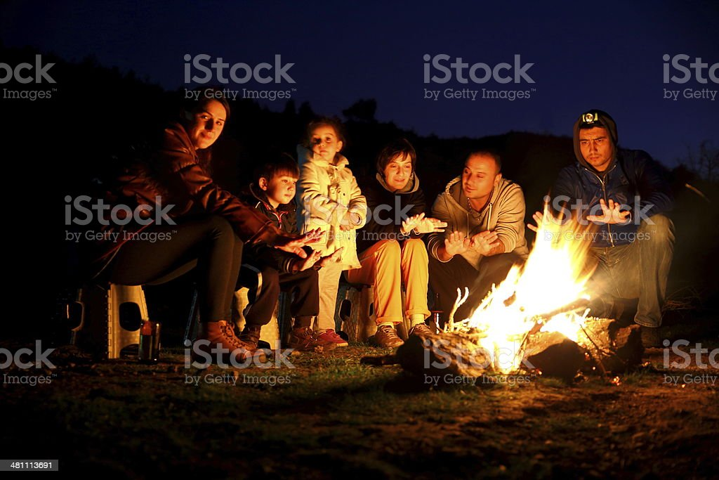 Campfire Pictures, Images and Stock Photos - iStock