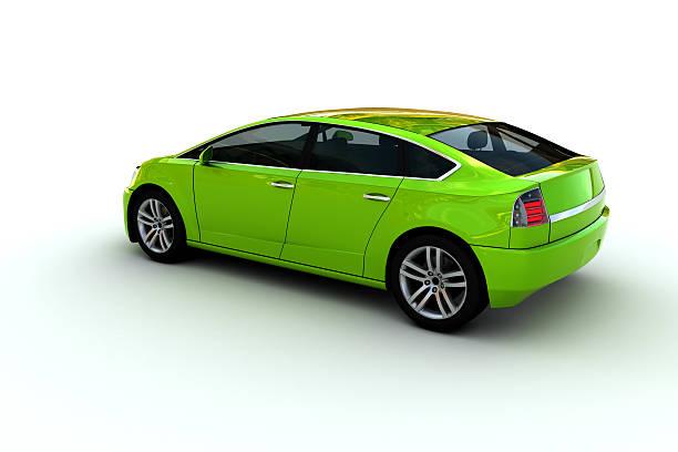 famiglia auto - auto a combustibile alternativo foto e immagini stock