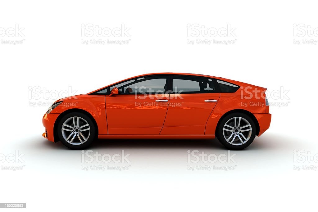 Family Car stock photo
