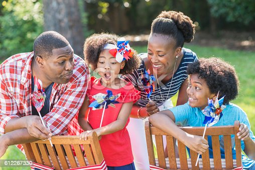 1091098220istockphoto Family celebrating Memorial Day or July 4th 612267330