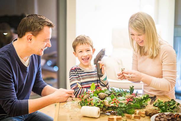 Family Weihnachten – Foto