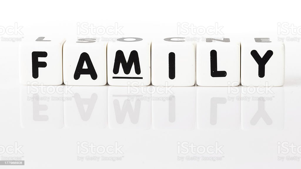 Family Concept royalty-free stock photo