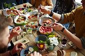ご家族でのディナー