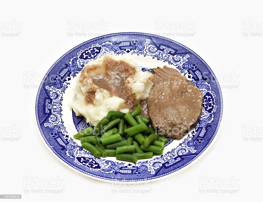 Family  Dinner Plate royalty-free stock photo