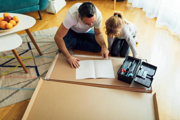 Family DIY stock photo