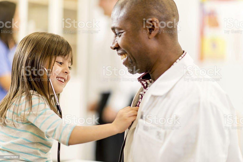 Family Doctor stock photo