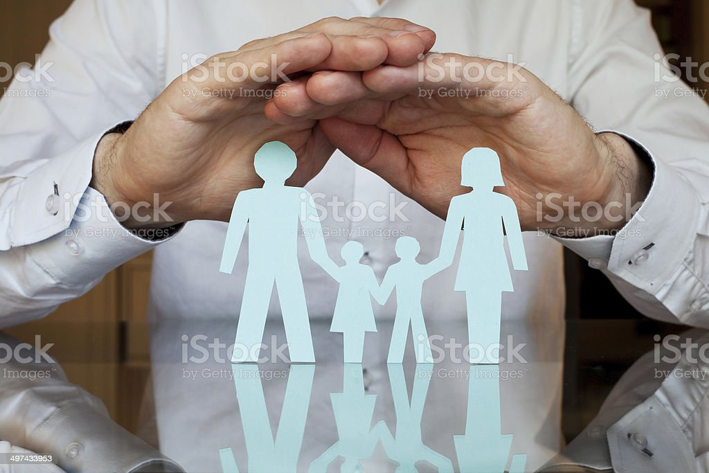 Familie Arzt - - Lizenzfrei Abstrakt Stock-Foto
