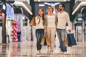 istock Family doing shopping 663902348