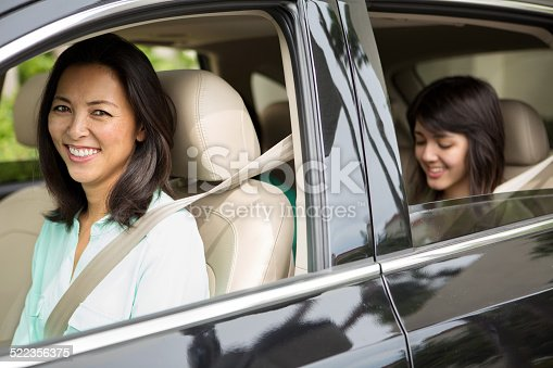 istock Family driving in an SUV 522356375