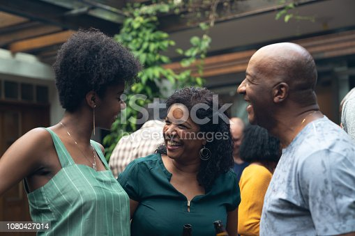 istock Family enjoying a barbecue day at home 1080427014