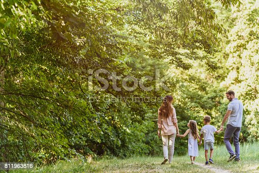 658444674istockphoto Family enjoying beutiful summer day in nature 811963816