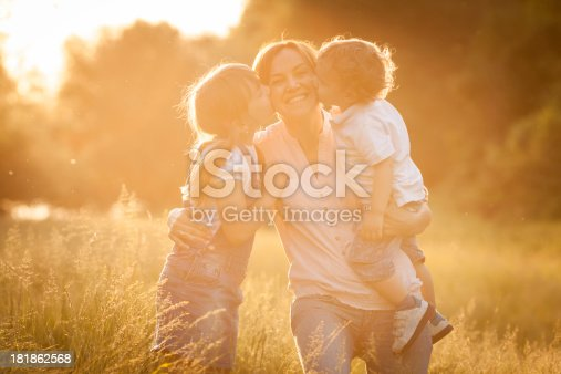 172407626 istock photo Family enjoying time together outdoors 181862568