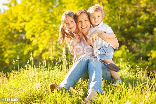 172407626 istock photo Family enjoying time together outdoors 471840891