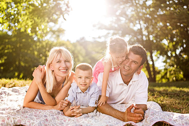 Family Portrait Poses For 4 Pictures Images And Stock Photos