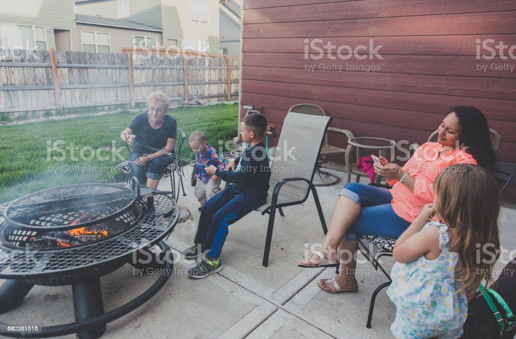 Family Enjoyment. foto stock royalty-free
