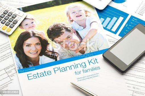 584597964istockphoto Family Estate planning document 494853963